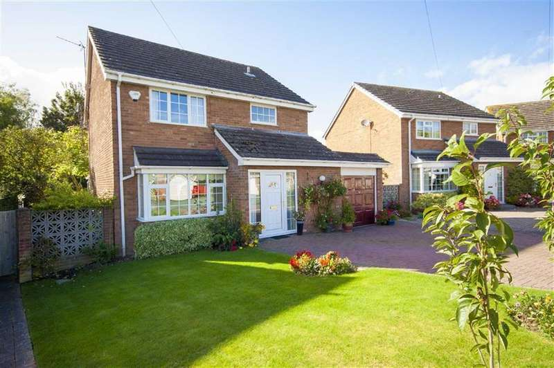 4 Bedrooms Detached House for sale in Willow Drive, Hanwood, Shrewsbury, Shropshire
