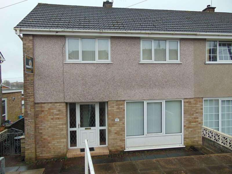 3 Bedrooms Semi Detached House for sale in Brynheulog, Llanelli
