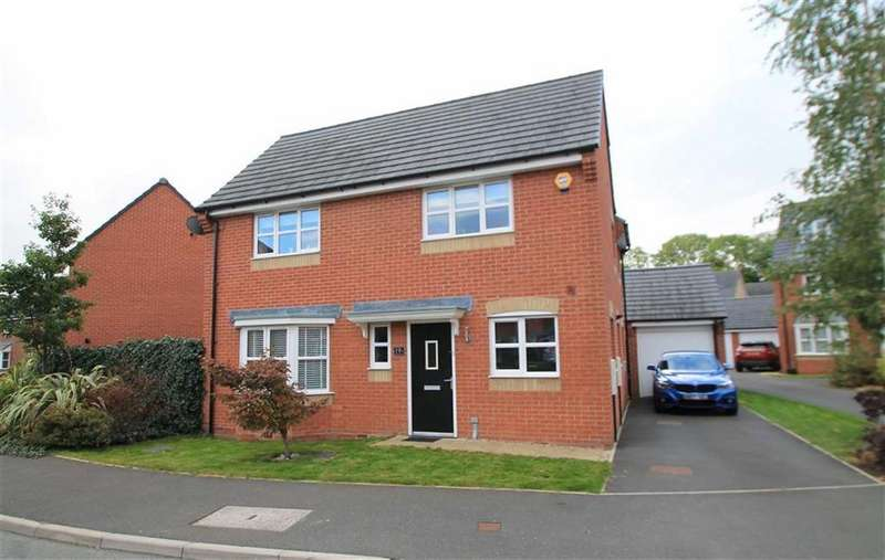 4 Bedrooms Detached House for sale in Whitehead Drive, New Broughton, Wrexham