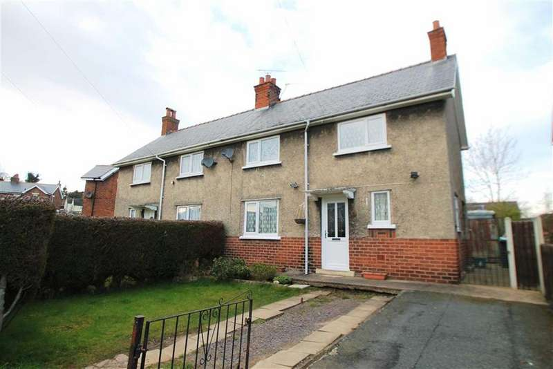 3 Bedrooms Semi Detached House for sale in Second Avenue, Gwersyllt, Wrexham