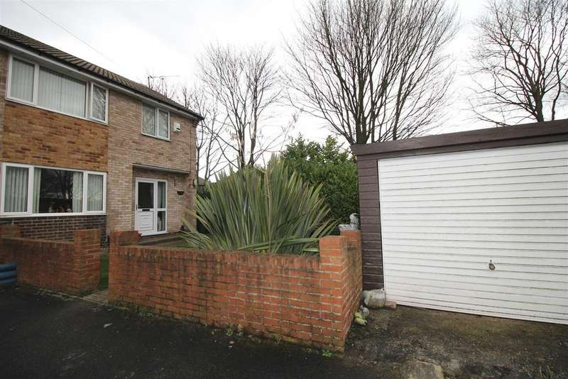 3 Bedrooms Semi Detached House for sale in Cairns Close, Bradford, BD2 1EN