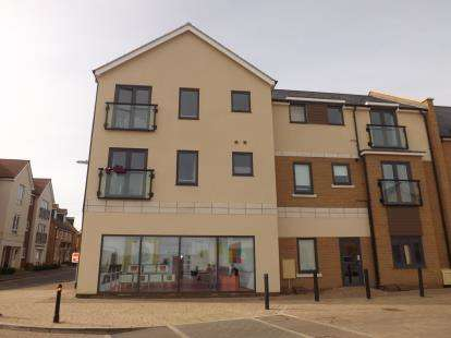2 Bedrooms Flat for sale in Britten Place, Sullivan Court, Biggleswade, Bedfordshire