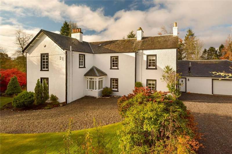6 Bedrooms Detached House for sale in Wester Ardoch, Feddal Road, Braco, Auchterarder, Perthshire, FK15