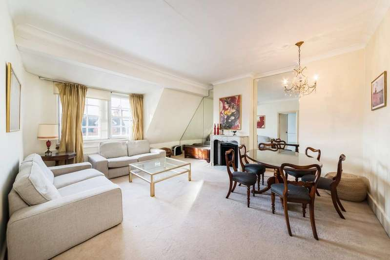 2 Bedrooms Flat for sale in Pont Street, SW1X