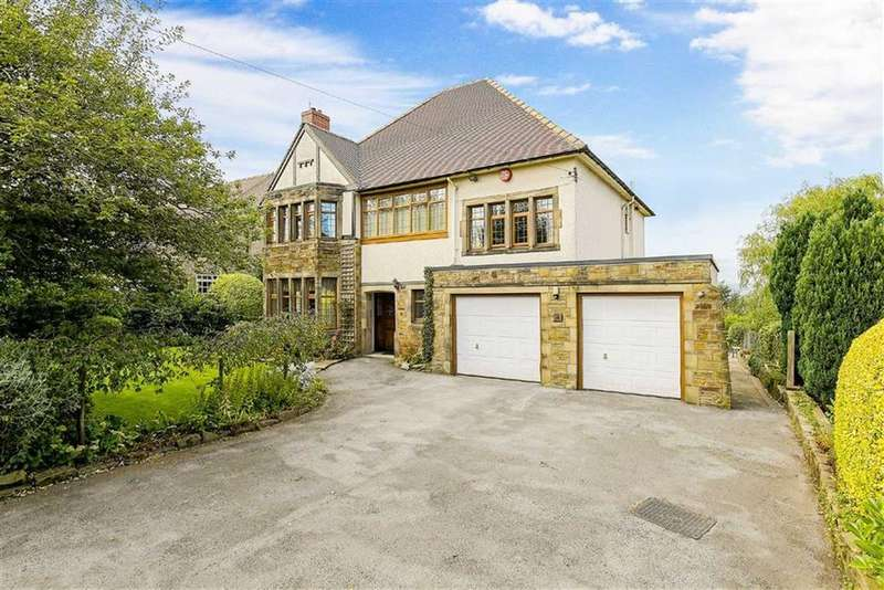 5 Bedrooms Detached House for sale in Dorchester Road, Fixby, Huddersfield, HD2
