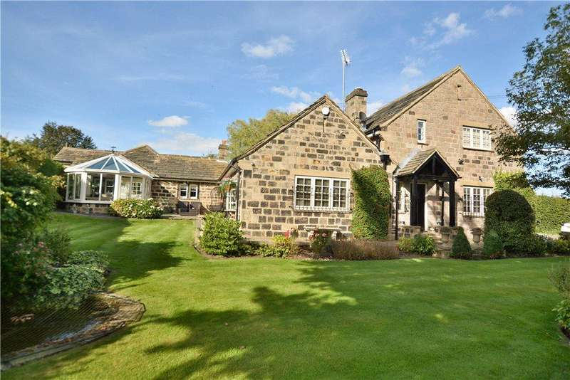 3 Bedrooms Detached House for sale in Island Cottage, Backstone Gill Lane, Wike, Leeds