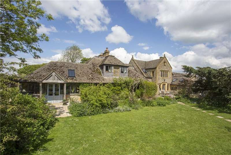 5 Bedrooms Detached House for sale in Naunton, Cheltenham, Gloucestershire, GL54