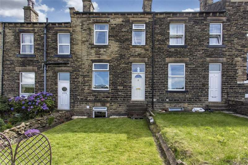 3 Bedrooms Terraced House for sale in North View Terrace, Halifax Road, Dewsbury, WF13