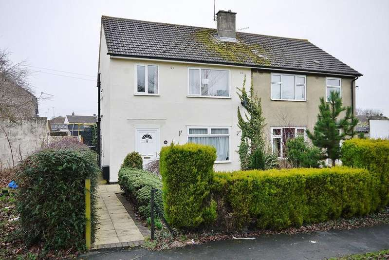 3 Bedrooms Semi Detached House for sale in Marston Avenue, Swindon