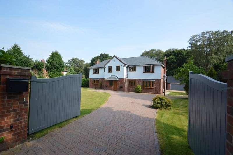 4 Bedrooms Detached House for sale in Dalefords Lane, Whitegate