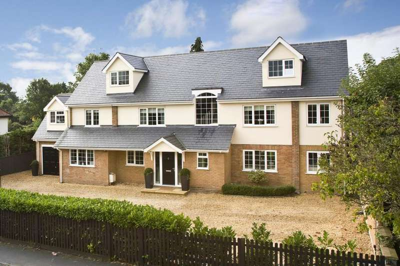 5 Bedrooms Detached House for sale in Windlesham, Surrey