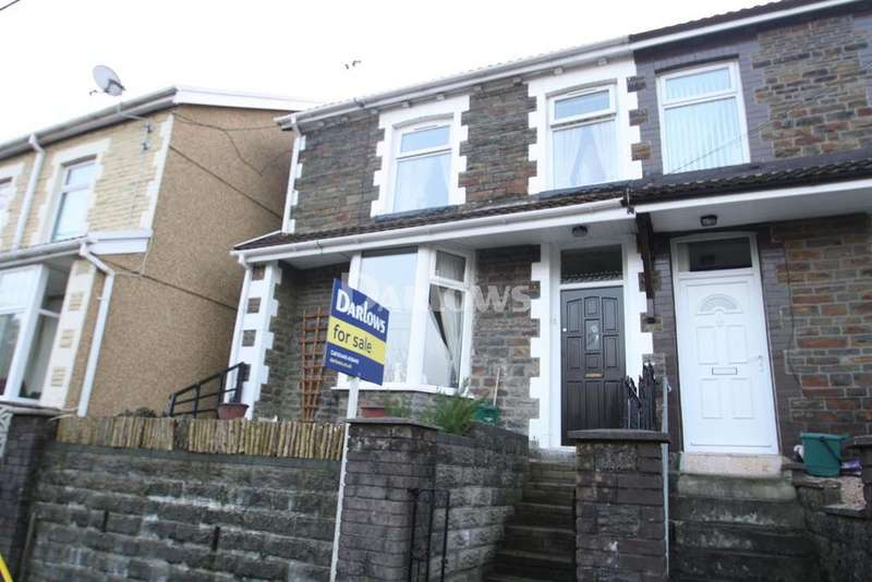 3 Bedrooms Semi Detached House for sale in Wyndham Street Penygraig