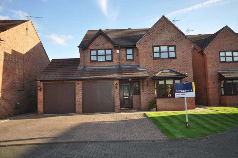 4 Bedrooms Detached House for sale in Woodville, Snaith