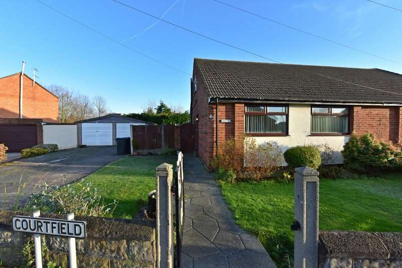 3 Bedrooms Semi Detached Bungalow for sale in Courtfield, Ormskirk
