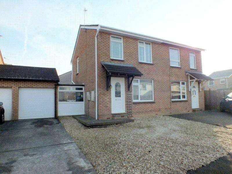 3 Bedrooms Semi Detached House for sale in Abbots Close, Worle, Weston Super Mare, BS22