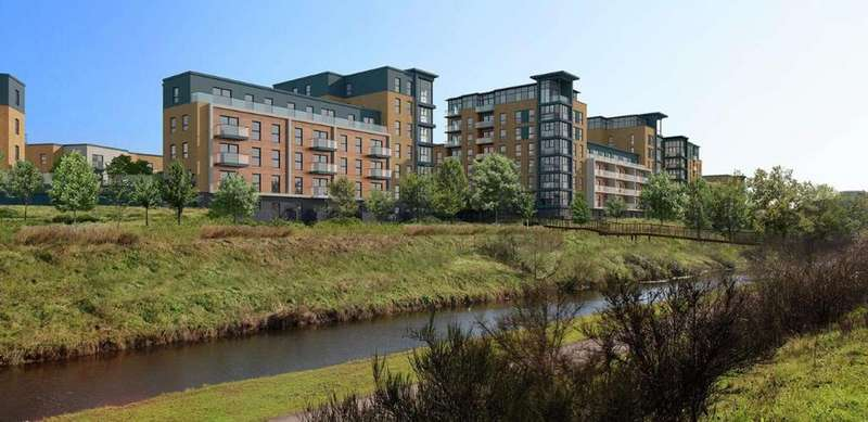 2 Bedrooms Apartment Flat for sale in Osprey House, Kennet Island