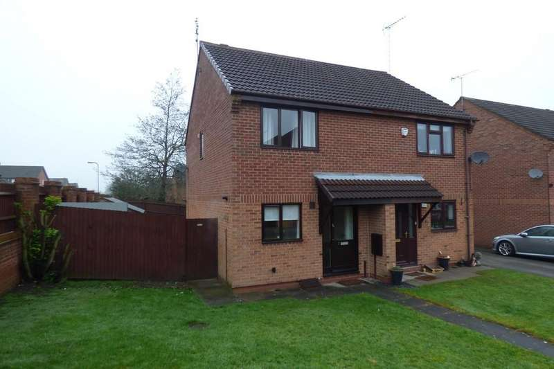 3 Bedrooms Semi Detached House for sale in Serin Close, Uttoxeter, Staffordshire, ST14 8UQ