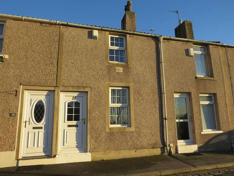 2 Bedrooms Terraced House for sale in Ladypit Terrace, Whitehaven, Cumbria