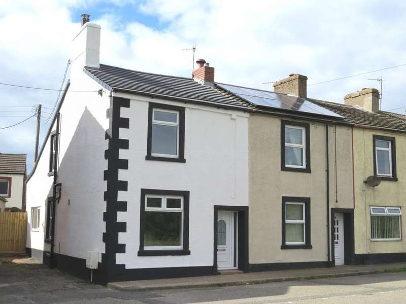 3 Bedrooms End Of Terrace House for sale in Parkside, Cleator Moor, Cumbria