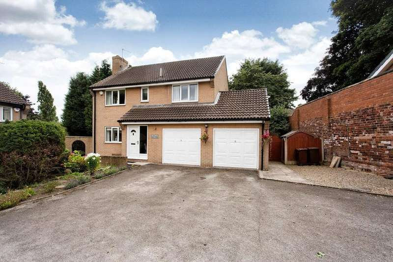 4 Bedrooms Detached House for sale in Mill Hill Lane, Pontefract, WF8