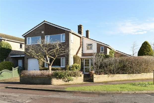 4 Bedrooms Detached House for sale in Vicarage Close, Ravensden, Bedfordshire