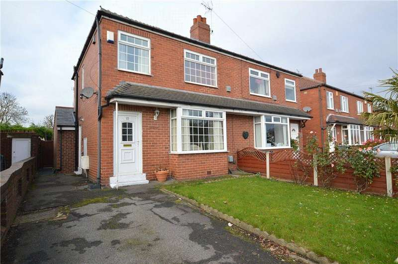 3 Bedrooms Semi Detached House for sale in East View, Gildersome, Leeds