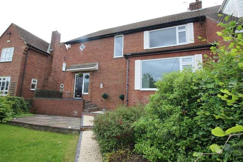 3 Bedrooms Semi Detached House for sale in Gandria Woodside Lane, Ryton, NE40
