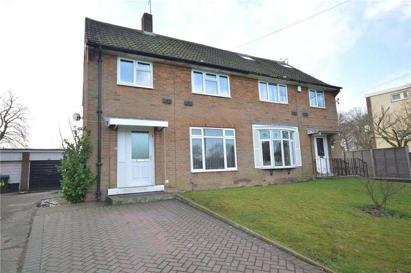 3 Bedrooms Semi Detached House for sale in Church Crescent, Moortown, Leeds