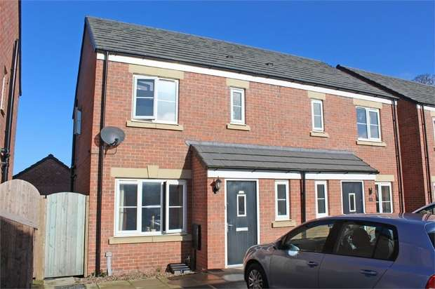 3 Bedrooms Semi Detached House for sale in Glaramara Drive, Carlisle, Cumbria
