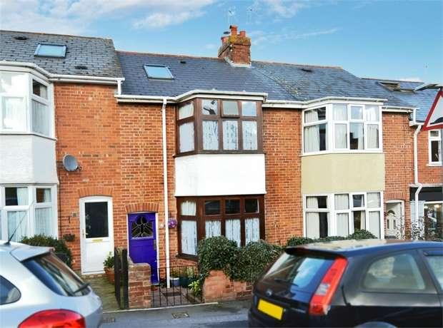 4 Bedrooms Terraced House for sale in Hanover Road, Heavitree, EXETER, Devon