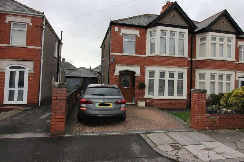 3 Bedrooms Semi Detached House for sale in St. Denis Road, Heath, Cardiff