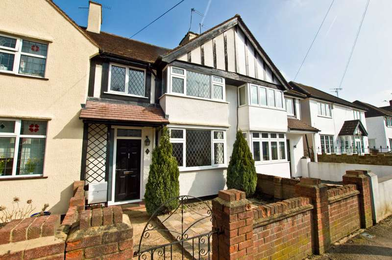 3 Bedrooms Terraced House for sale in Haydon Road, Oxhey Village