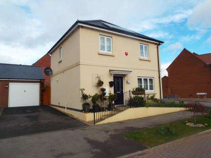 3 Bedrooms Detached House for sale in Long Meadow Way, Birstall, Leicester, Leicestershire