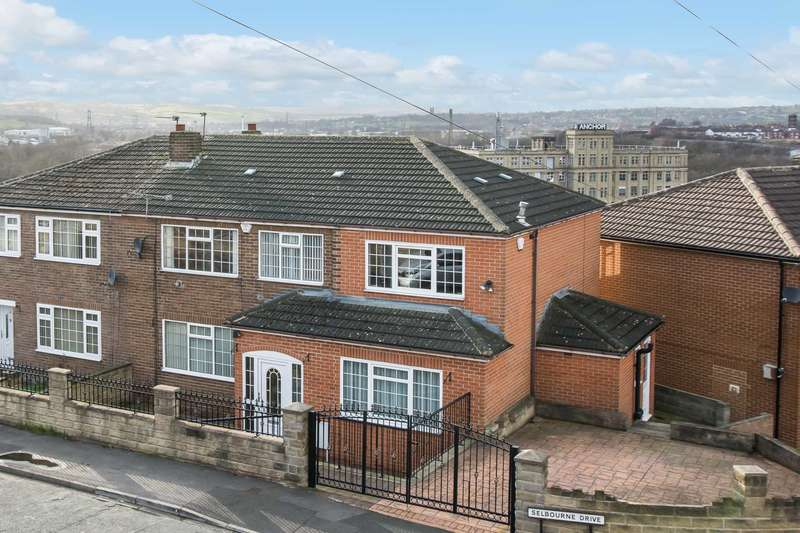 5 Bedrooms Semi Detached House for sale in Selbourne Drive, Dewsbury