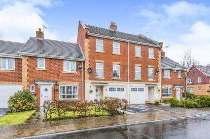3 Bedrooms Terraced House for sale in Jackson Avenue, Nantwich, Cheshire
