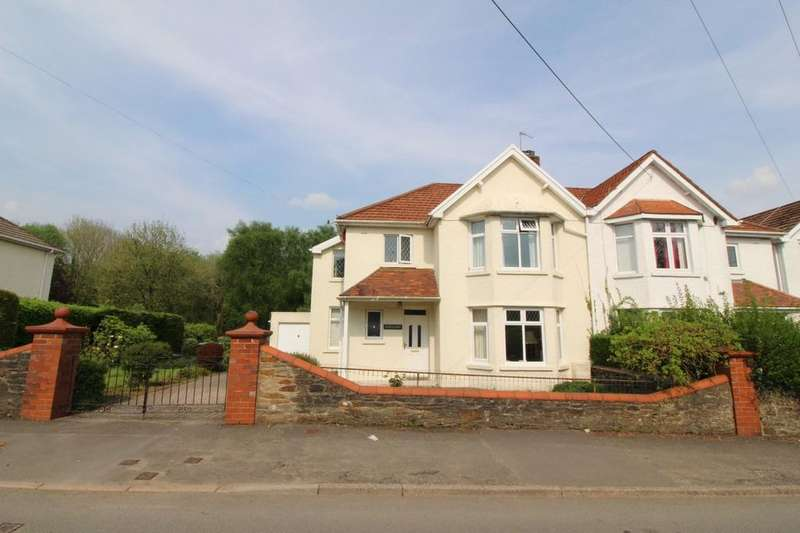4 Bedrooms Semi Detached House for sale in Cardiff Road, Creigiau