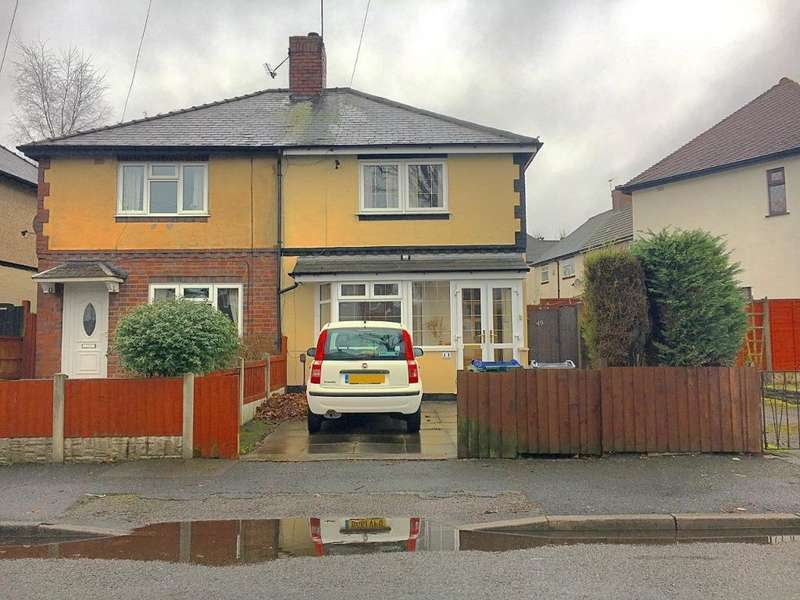3 Bedrooms Semi Detached House for sale in WESTBURY ROAD, WEDNESBURY, WEST MIDLANDS, WS10 9RT