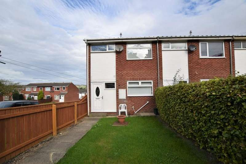 3 Bedrooms End Of Terrace House for sale in Heather Way, Stanley