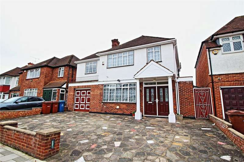 4 Bedrooms Detached House for sale in Dalkeith Grove, Stanmore, Greater London, HA7