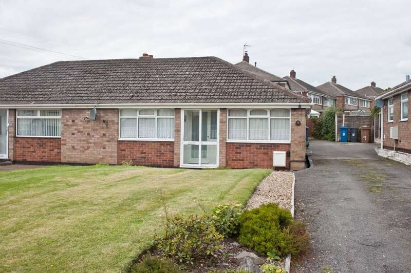 2 Bedrooms Semi Detached Bungalow for sale in Thorpe Street, Chase Terrace