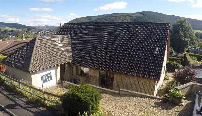4 Bedrooms Detached House for sale in Balvaird, St Ronan's Terrace, Innerleithen, Peeblesshire, Scottish Borders