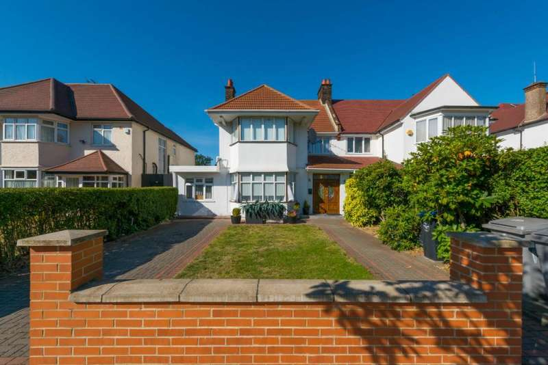 6 Bedrooms Semi Detached House for sale in Chatsworth Road, London, NW2