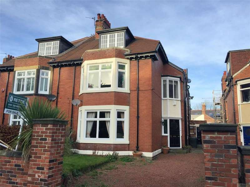 5 Bedrooms Semi Detached House for sale in Avenue House, Fern Avenue, Jesmond, Newcastle Upon Tyne, Tyne And Wear