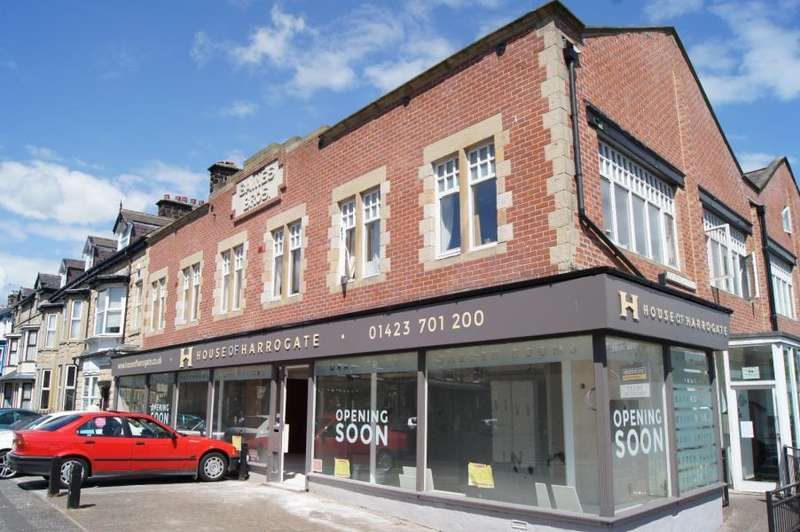 1 Bedroom Flat for sale in BAINES HOUSE, HARROGATE, HG1 1DP