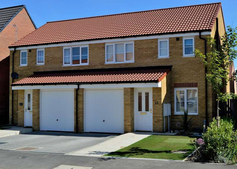 3 Bedrooms Semi Detached House for sale in Shotton Colliery, County Durham