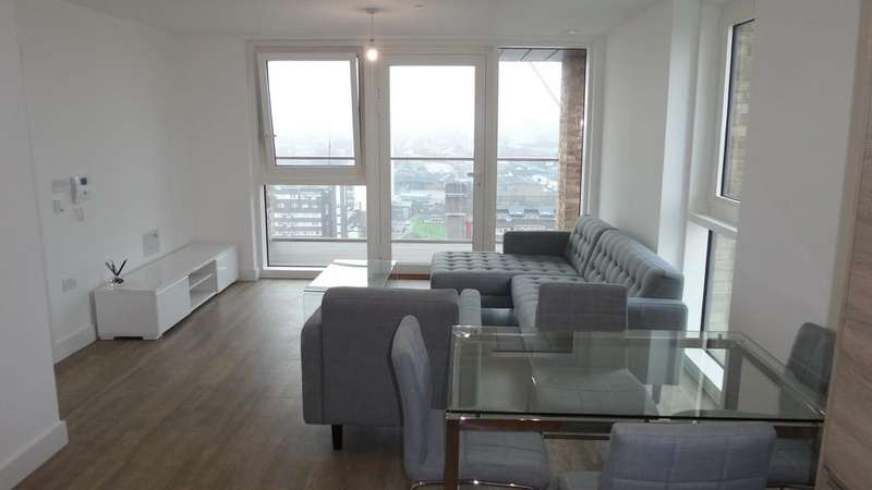 2 Bedrooms Flat for sale in Oslo Tower, Naomi Street, London