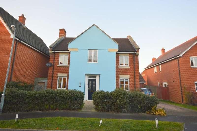 4 Bedrooms Detached House for sale in Gratian Close, Highwoods