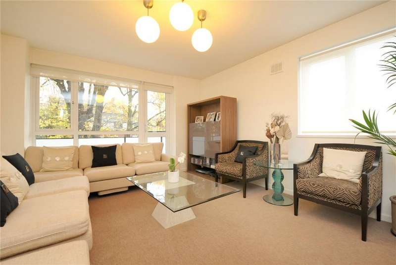 3 Bedrooms Flat for sale in Elgar House, Fairfax Road, Swiss Cottage, London, NW6