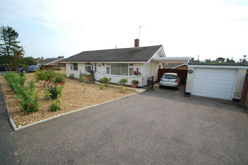 3 Bedrooms Detached Bungalow for sale in Merlin Close, Hoveton