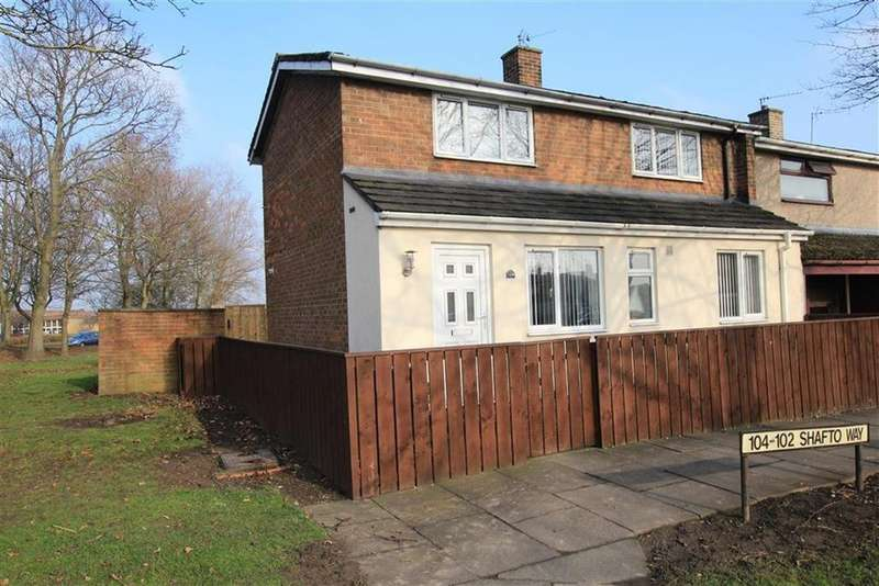 2 Bedrooms Terraced House for sale in Shafto Way, Newton Aycliffe, County Durham